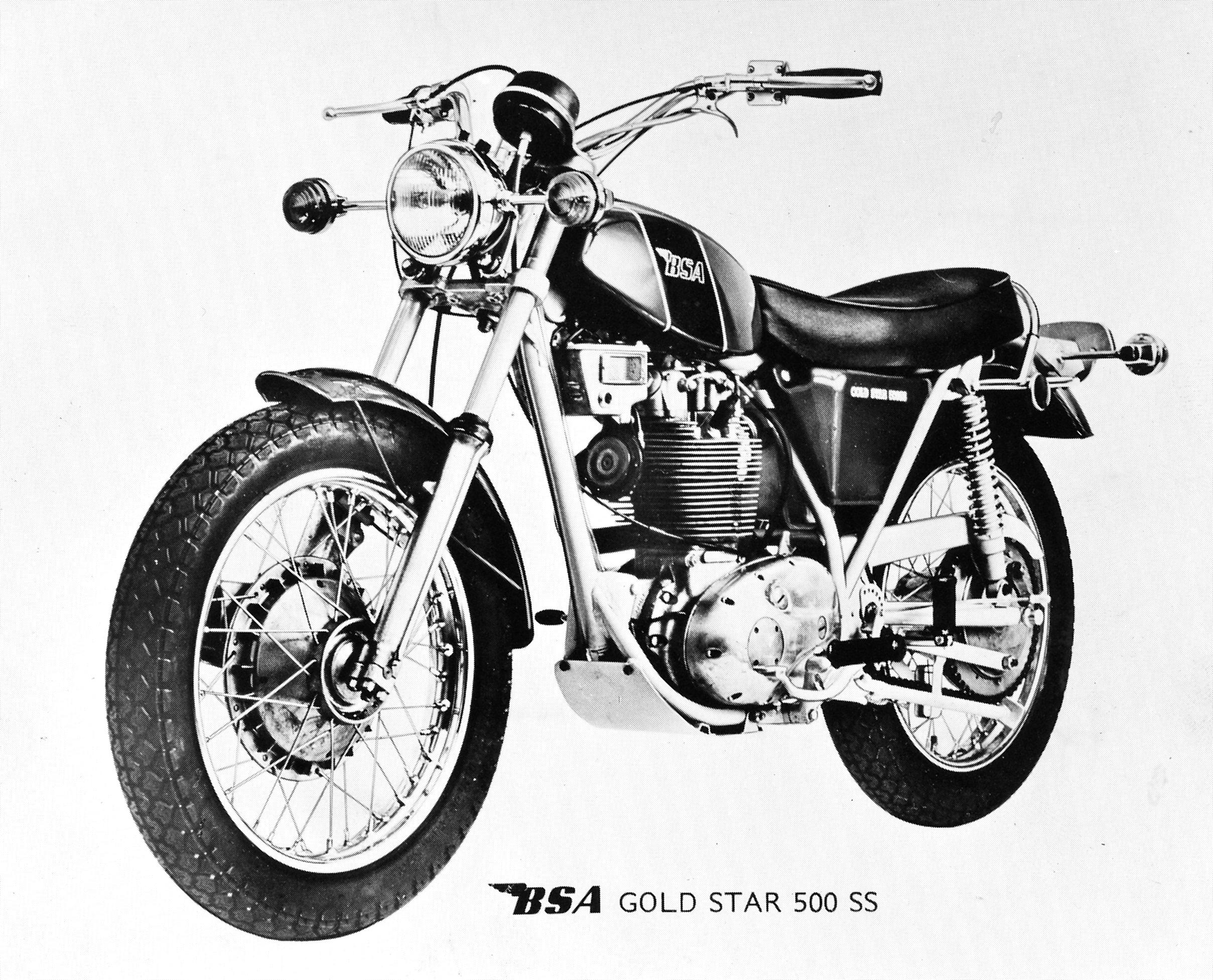 Gold Star B50 SS