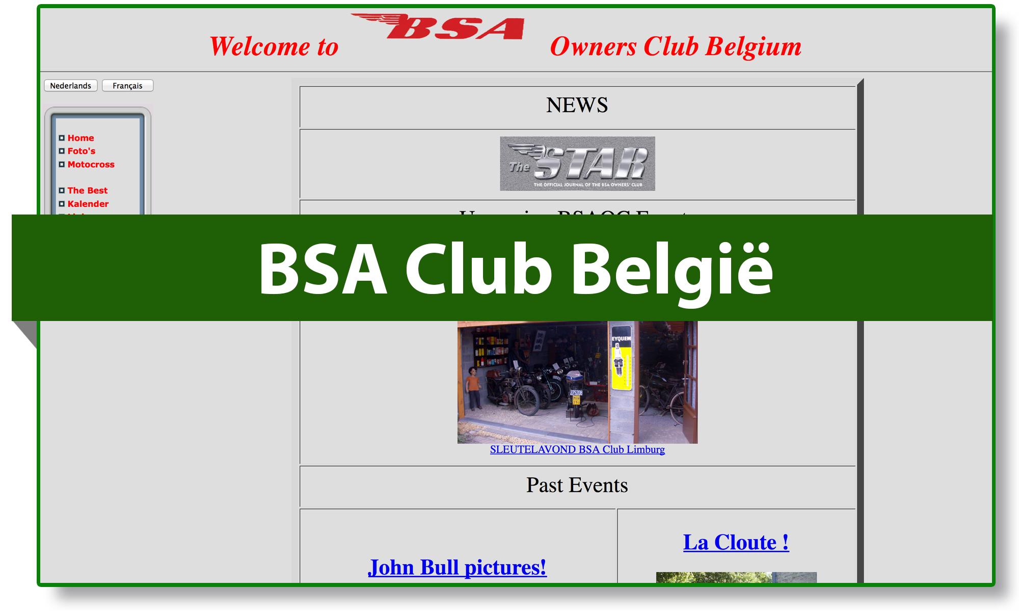 BSA club België