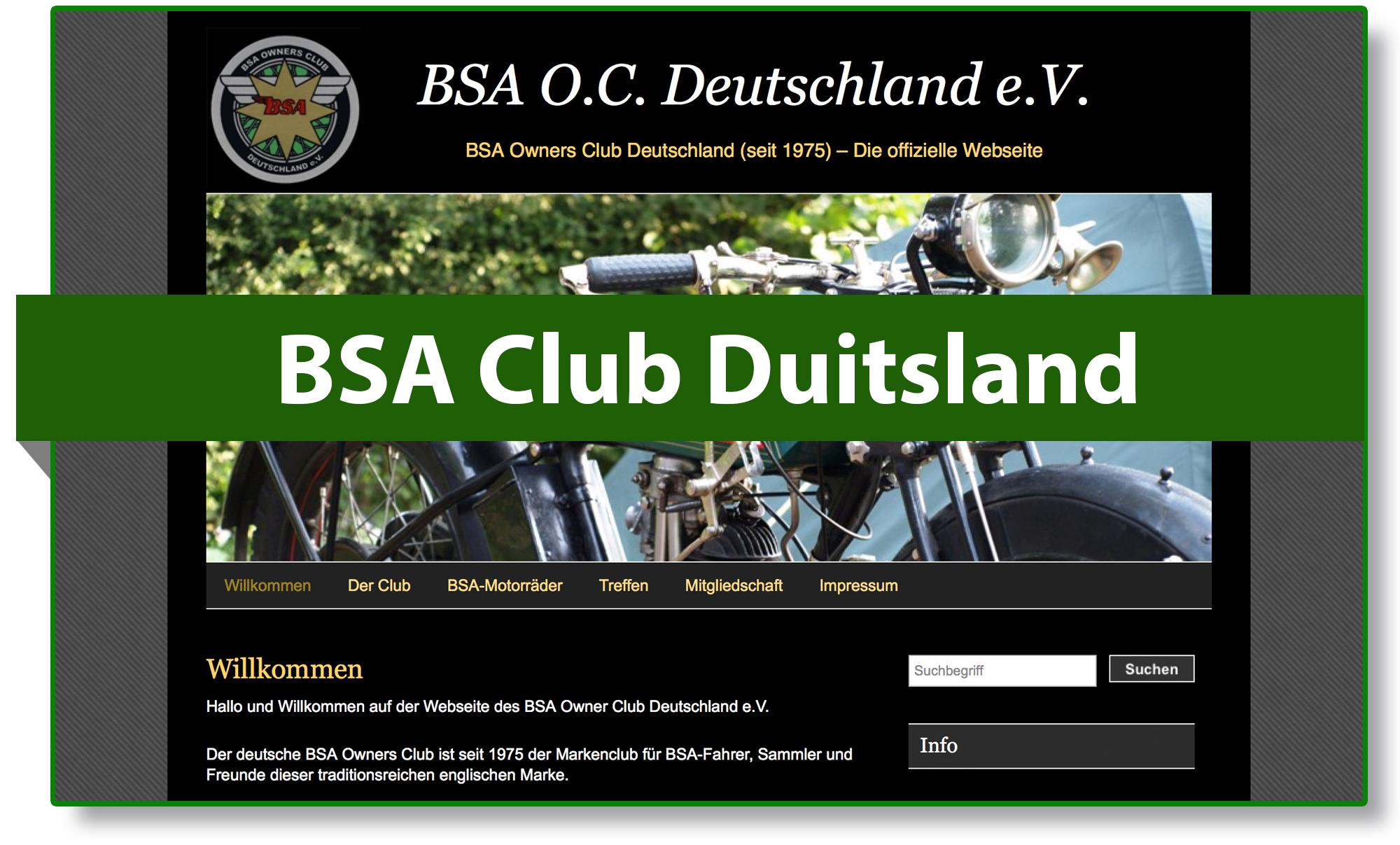 BSA club Duitsland