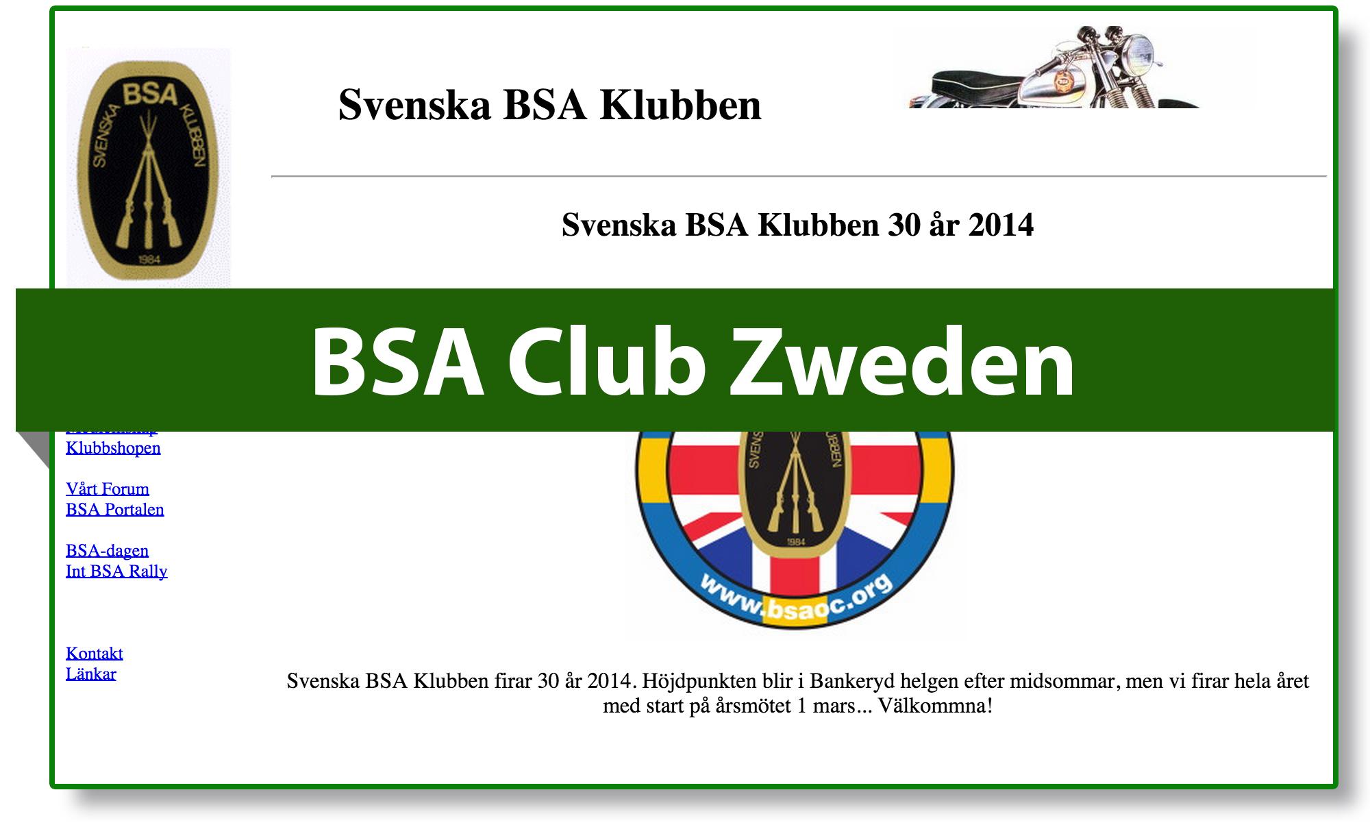 BSA club Sweden